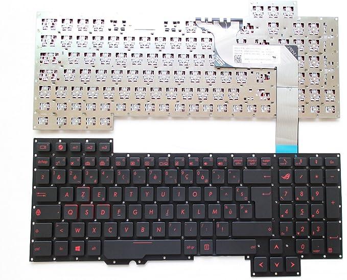 Azerty francés teclado para ASUS G751 g751j G751JL G751JM ...