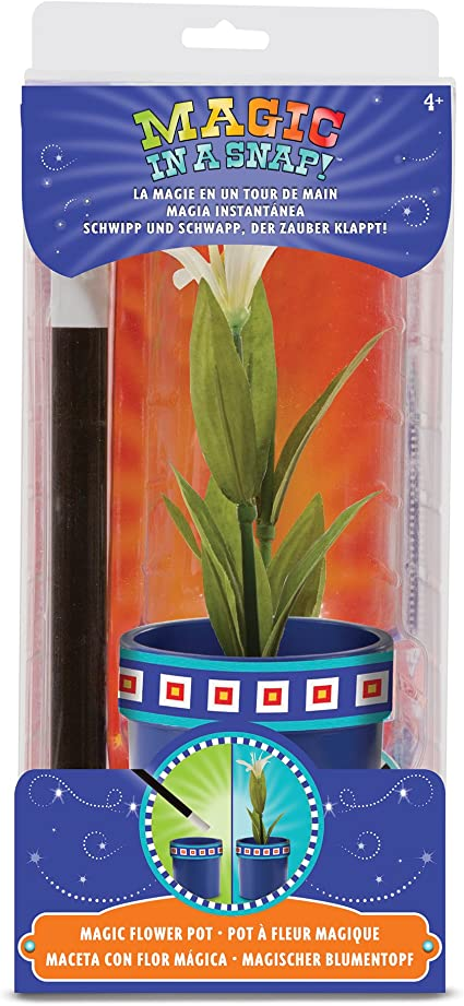 Melissa and Doug Magic in a Snap Flower Pot and Wand 14055