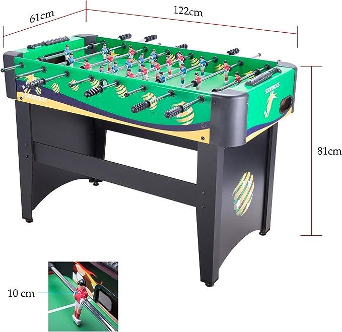 CO-Z Mesa del Fútbol Juego de Mesa Divertido Futbolines Juegos de ...