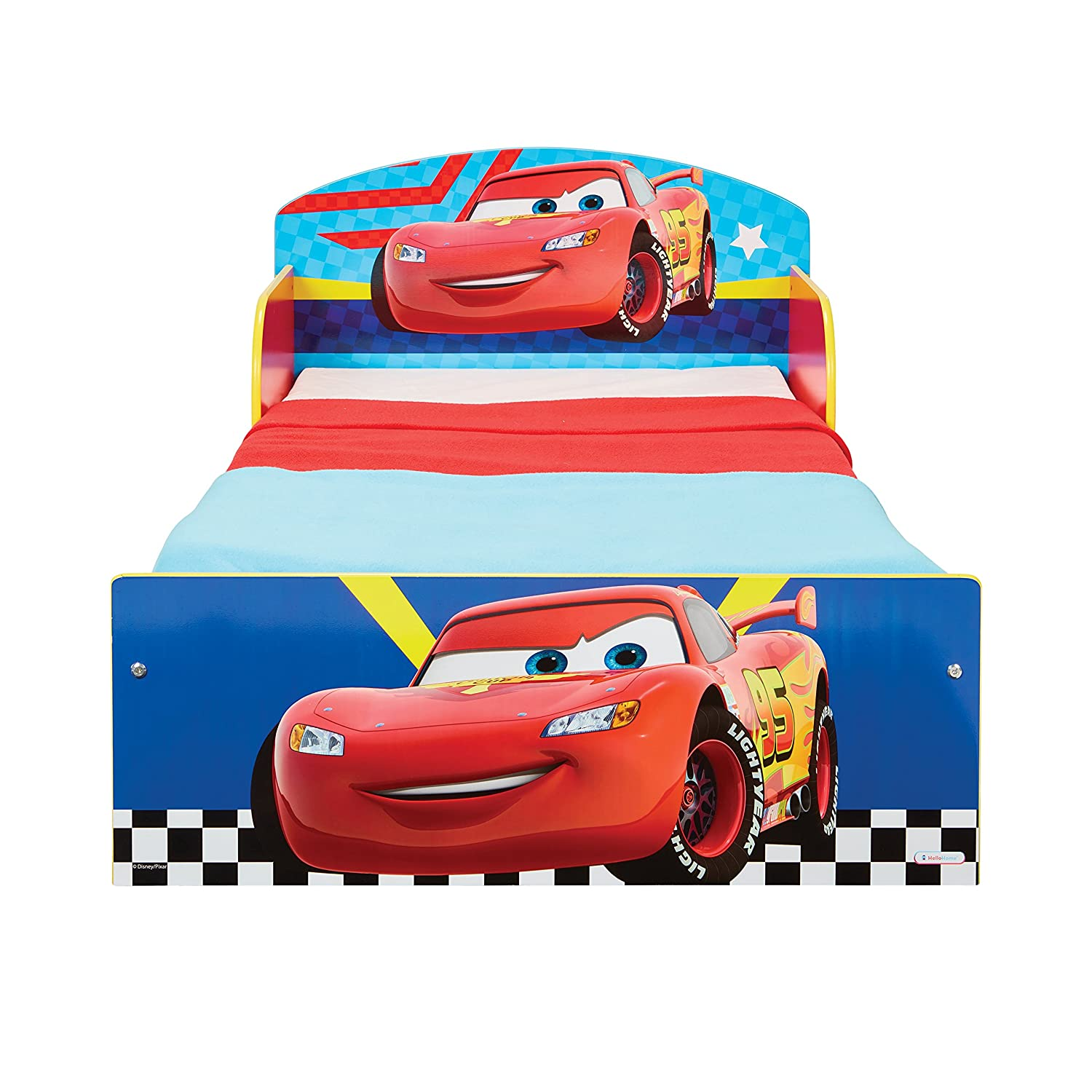 Disney Cars Kids Toddler Bed by HelloHome Worlds Apart 505CAC
