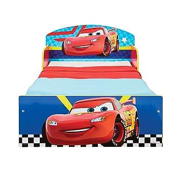 Cars Disney Cama Infantil Para Ninos Pequenos Amazones Hogar - Cama-para-nios-pequeos