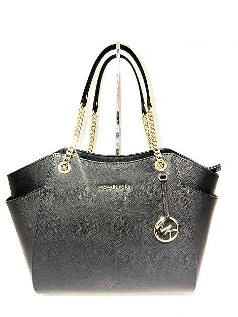 fa79c28e8e15 Michael Kors Women's PVC Printed Tote Bag (Black): Michael Kors ...
