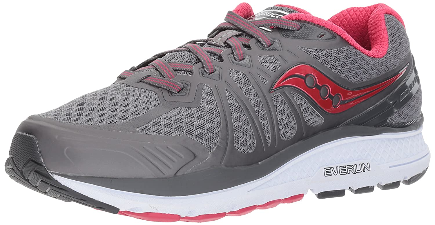 Saucony Women's Echelon 6 Running Shoe B01N0TK4WF 5 W US|Grey Pink