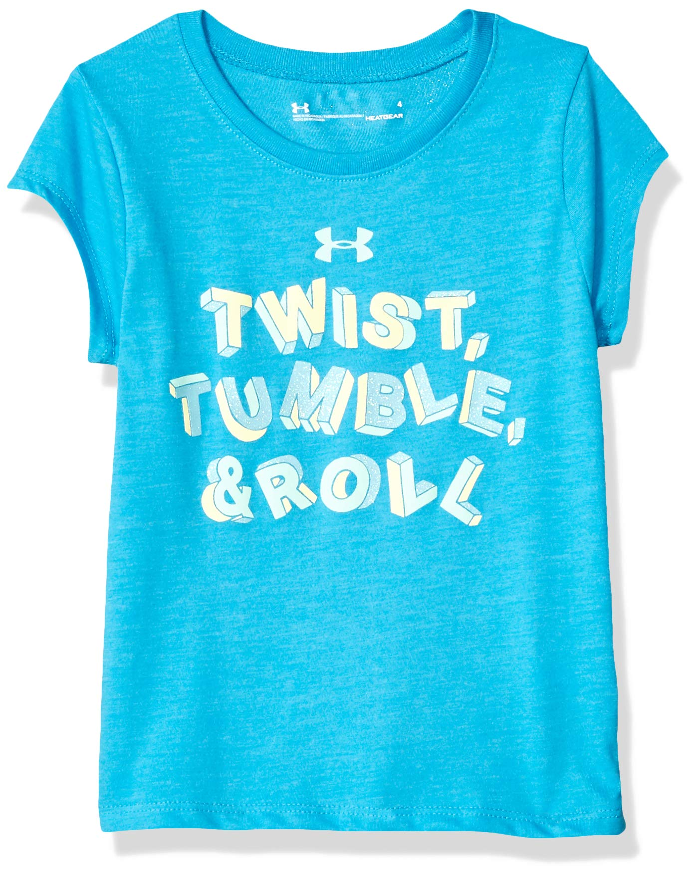 Under Armour Girls Toddler Attitude Ss Tee Shirt Alpine S19 2t