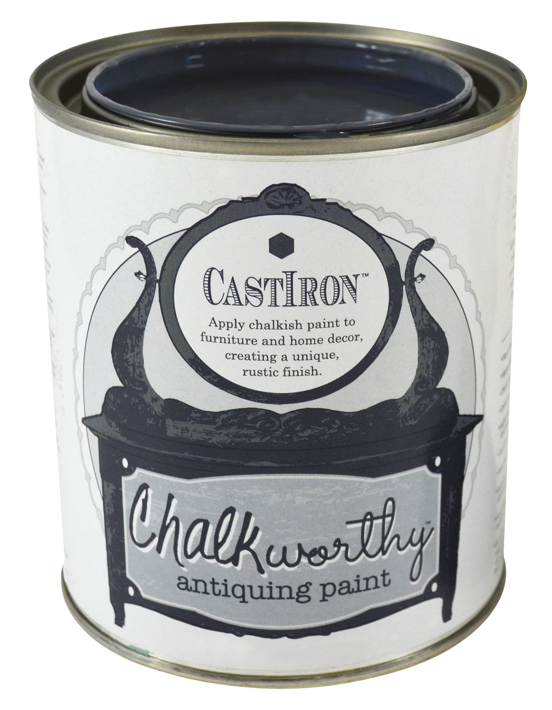 Giani Granite FG-CW Iron PT Chalkworthy Antiquing Paint-Cast Pint