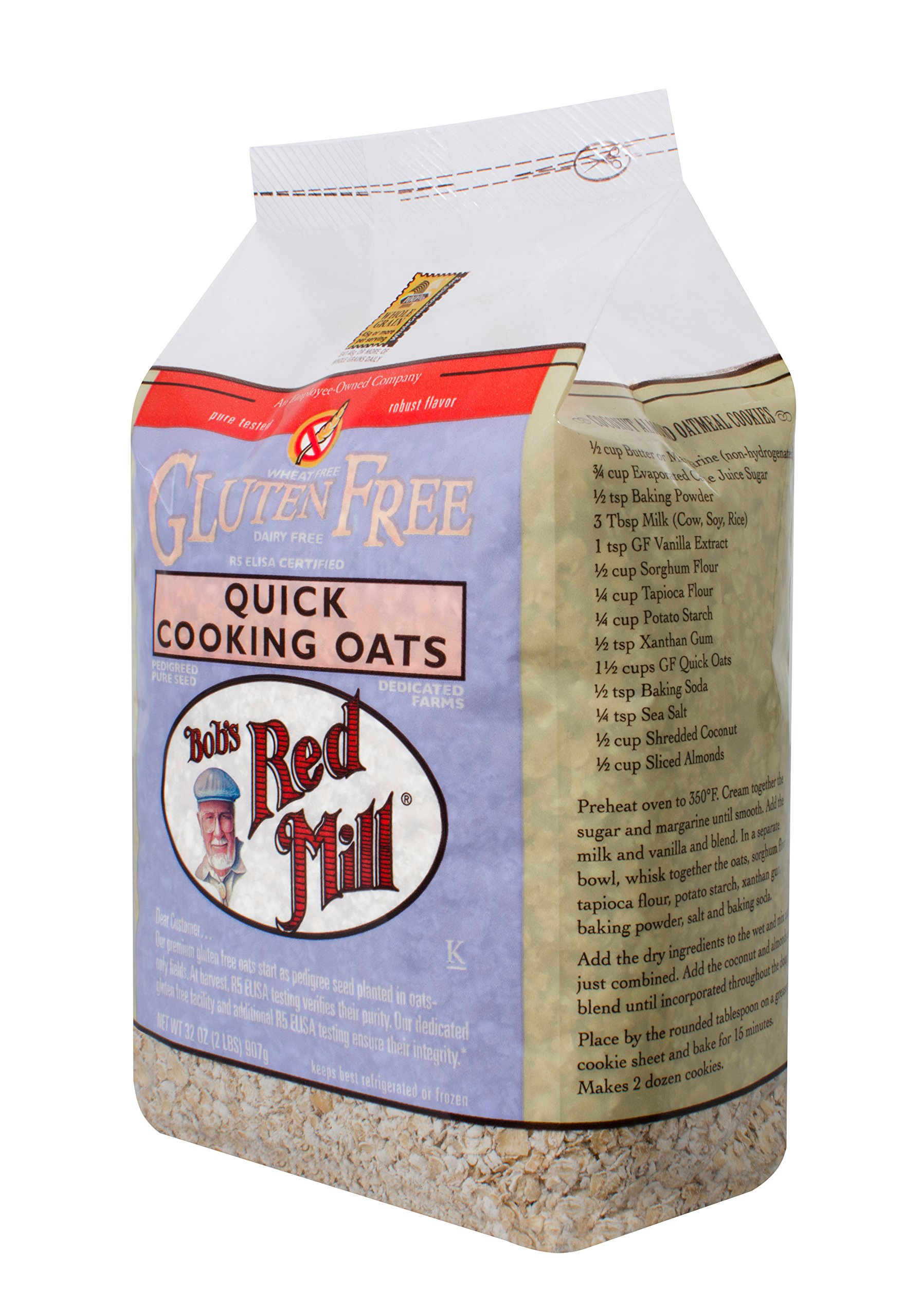 Bob's Red Mill Gluten Free Organic Quick Cooking Rolled Oats, 32 Oz (4 Pack) by Bob's Red Mill (Image #9)