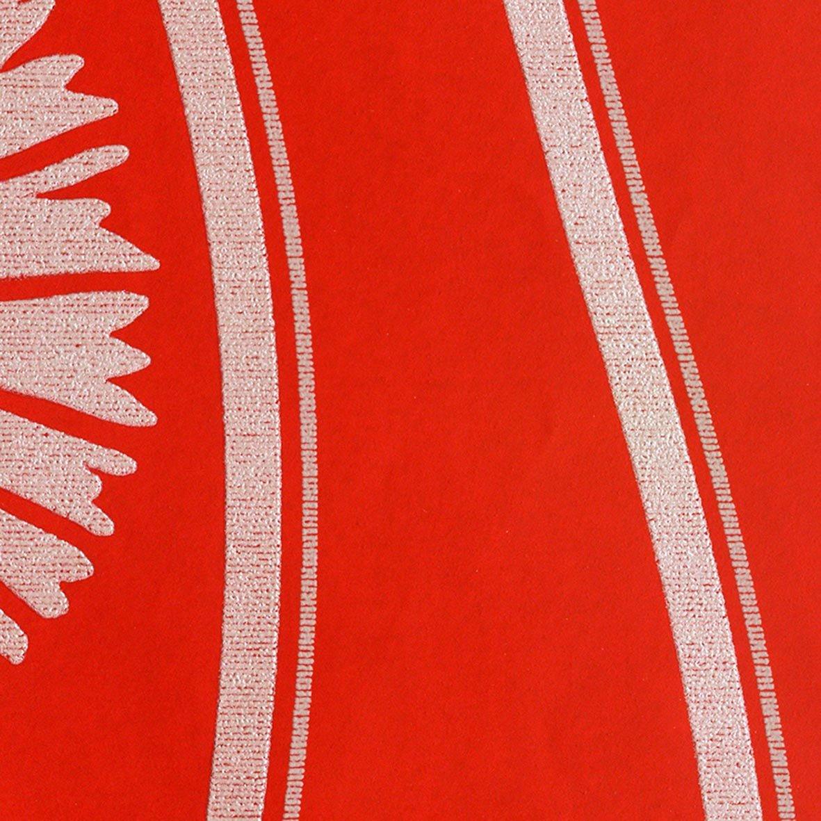 リリカラ 壁紙43m 和 和文様 レッド kioi LW-2501 B07613BN7Z 43m|レッド
