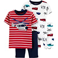 Carter's 4-Piece Baby-boy Sung fit Cotton Pajamas