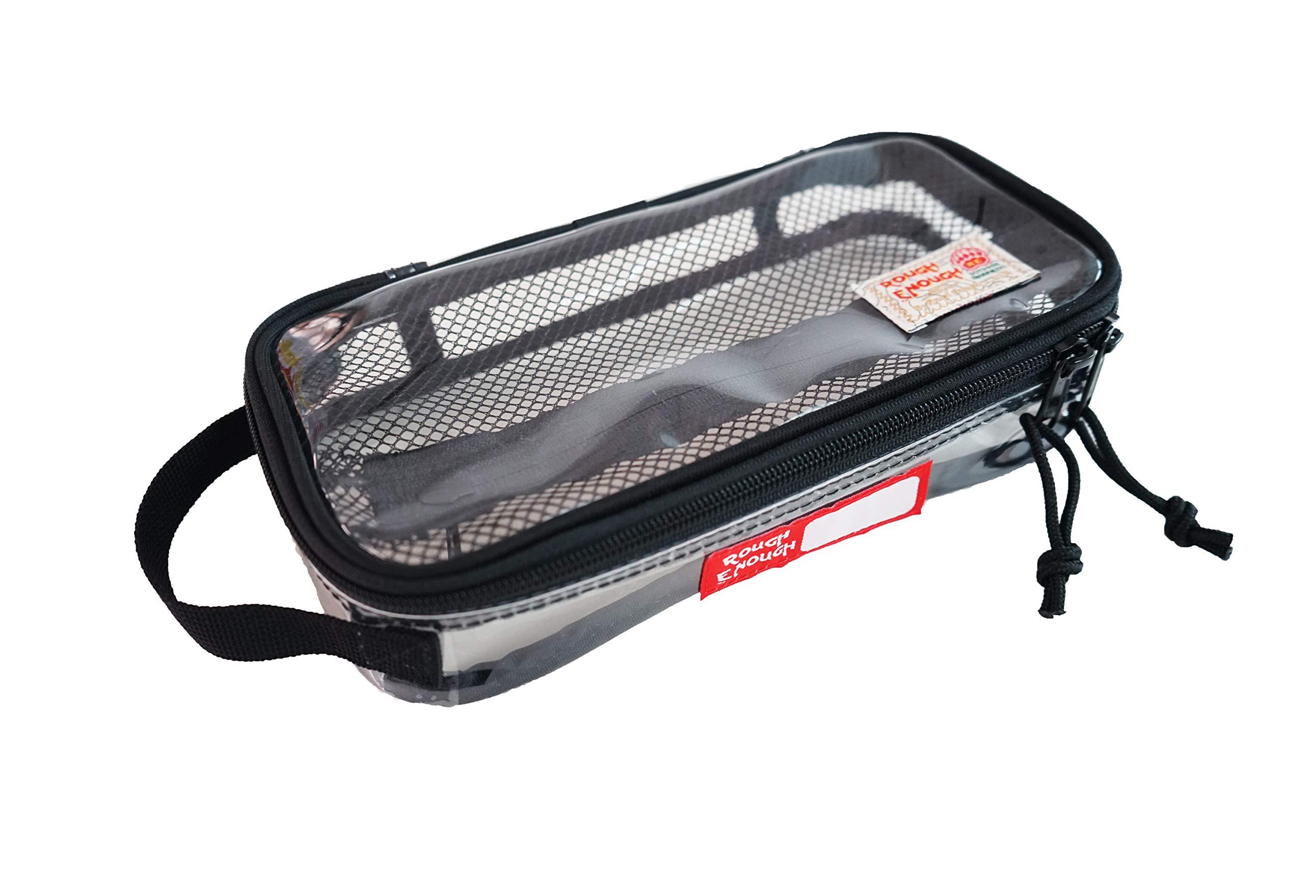 Amazon.com  Rough Enough ECO Clear Transparent Cosmetic Travel Bag . 6156628b78adc