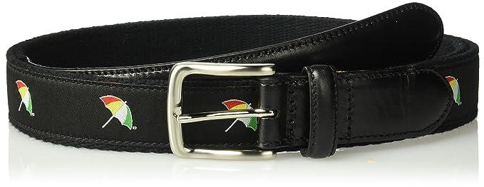 80f37078a9f Arnold Palmer mens Embroidered Logo Web Golf Belt Belt  Amazon.ca ...