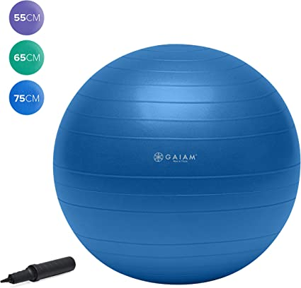 "75CM//29/"" Large Exercise Yoga Ball with Pump Anti Burst Workout Balance Stability"