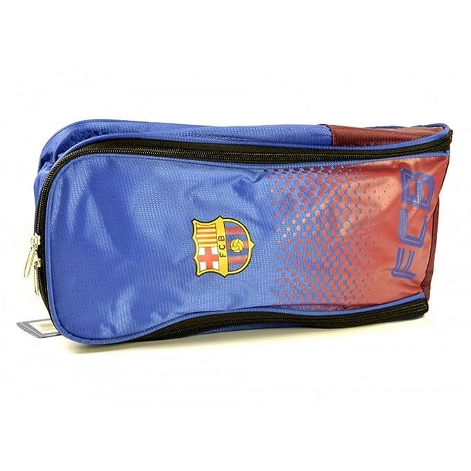 FC Barcelona Official - Portabotas/Neceser efecto degradado (Talla Única/Azul/Rojo