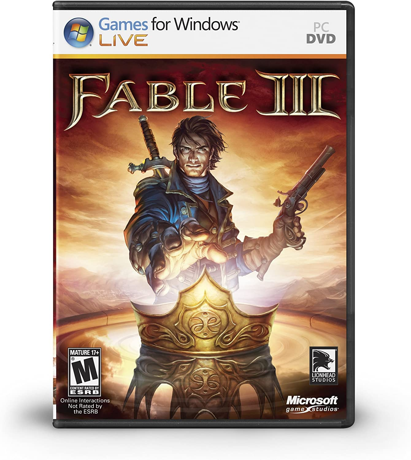 Amazon com: Fable III - Xbox 360: Microsoft Corporation
