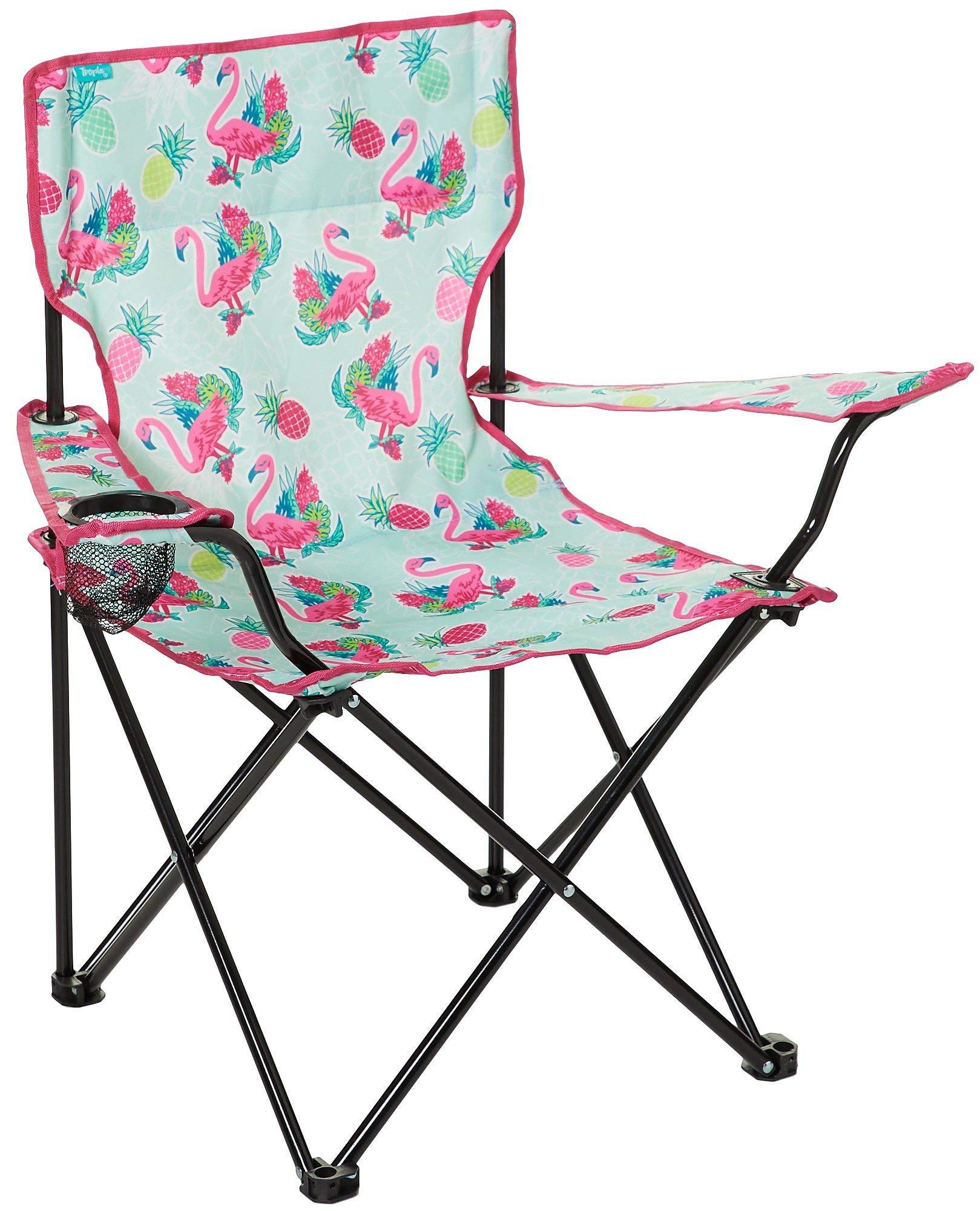 Tropix Flamingo Quad Chair One Size Pink/Green/Blue