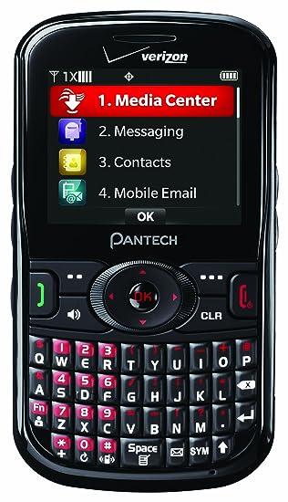 amazon com pantech caper prepaid phone verizon wireless cell rh amazon com Pantech Jest 2 Manual AT&T Pantech