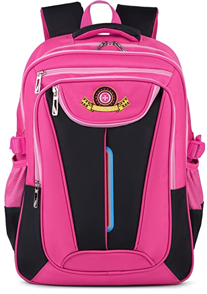 Coofit Cartable fille college Sac a dos fille en Nylon Cartable enfant Sac  a dos college be650431d50f