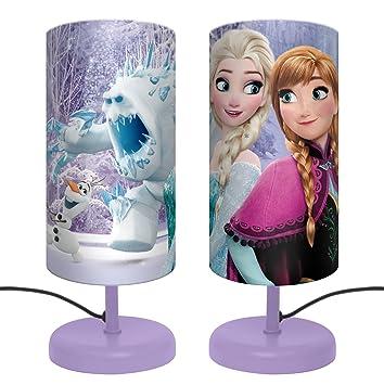 Twentyfeet De Reine Cm Neiges Violet Chevet Frozen Des Lampe Disney 29 dxBoeCrW