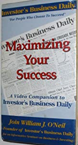 Maximizing Your Success [VHS]