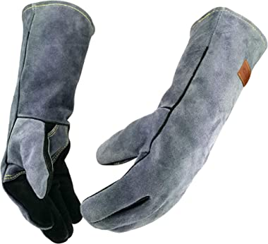 WZQH Extreme 932°f Heat Resistant Grill & Welding Gloves