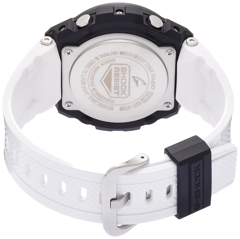 Casio G Shock Steel Gst 210b 7ajf White Mens Watch 1a Japan Import Watches