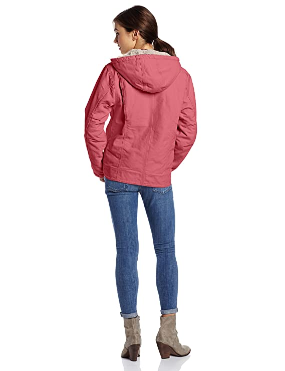 Amazon.com: Carhartt Women's Sherpa Lined Sandstone Sierra Jacket ...