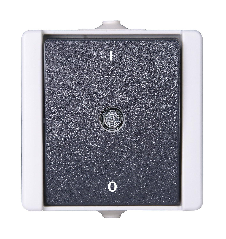 Kopp 540256000 Pro AQA Aufputz-Feuchtraum Schalterprogramm ...