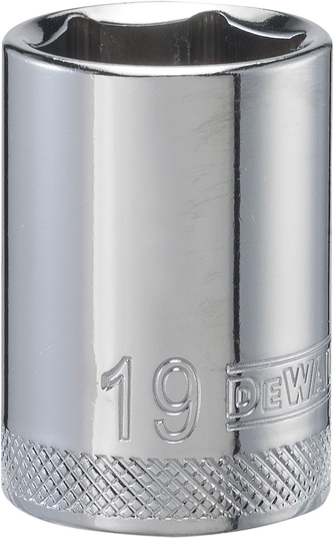 DEWALT 6 PT 1//2 Drive Socket 19 MM DWMT86519B