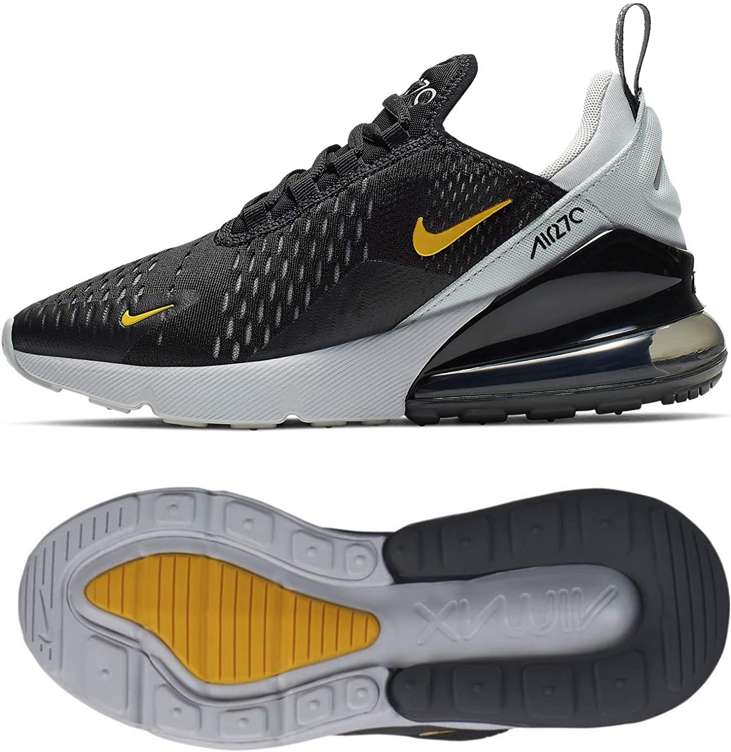 Nike Air Max 270 (Gs) BlackAmarillo Pure Platinum Anthra