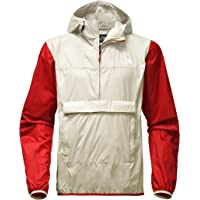 The North Face Men's Fanorak Colorblock Water-Repellent Pullover (Vintage White)