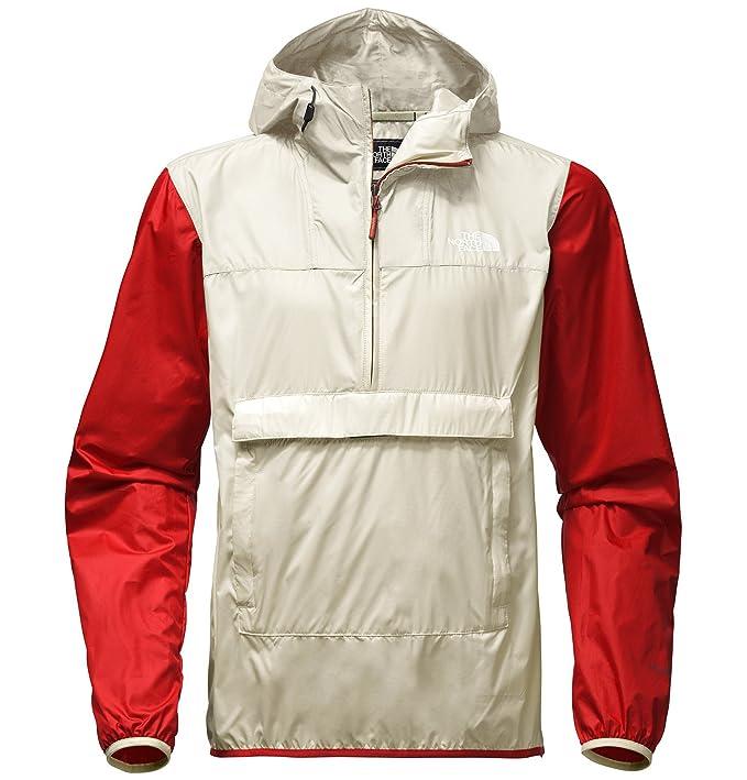 5da3f3ccc The North Face Mens Fanorak Windbreaker (Vintage White Multi, XX ...