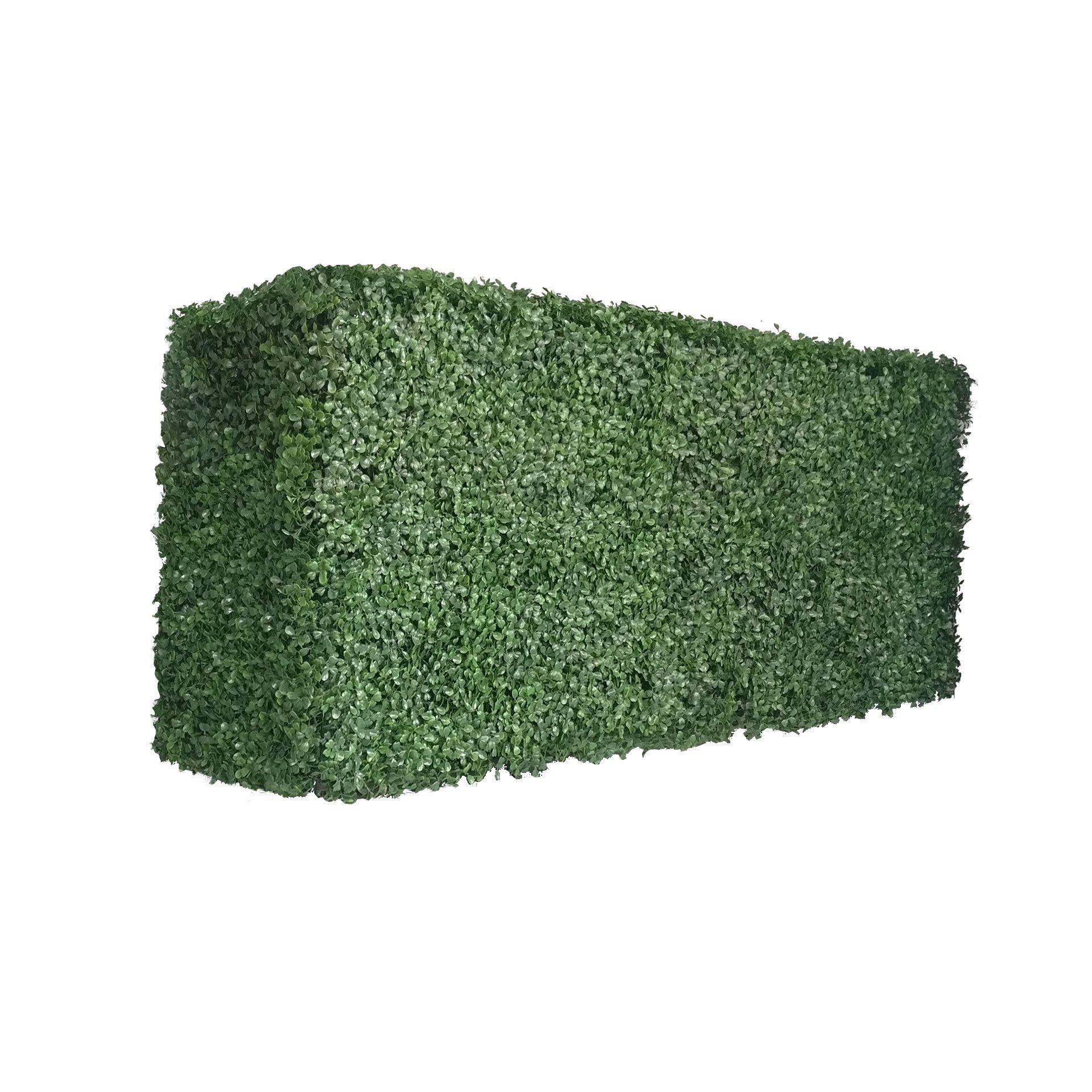 """Artigwall Faux Boxwood Hedge Divider Wall 16""""H48""""L12''D Room Divider"""