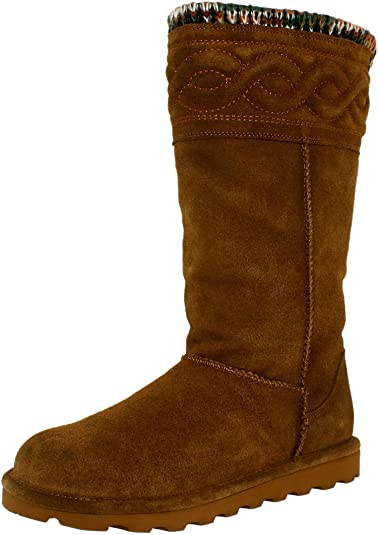 Womens Emma 12 Fur Trimmed Boot Bearpaw Discount Cheap Online HfCNrW9