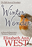 A Winter Wonder: A Pride and Prejudice Novella Variation (Seasons of Serendipity Book 5)