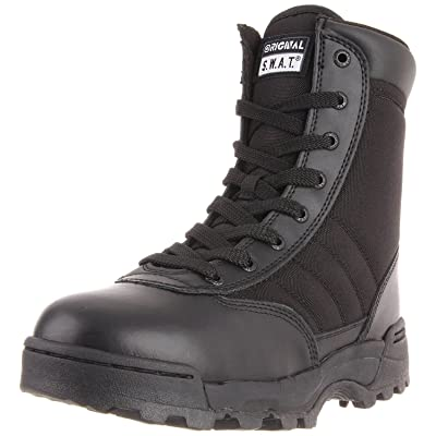 "Original S.W.A.T. Men's Classic 9"" Side Zip Work Boot: Shoes"