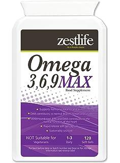 Omega 3,6,9 1000mg - 120 Cápsulas ácidos grasos EPA y DHA y