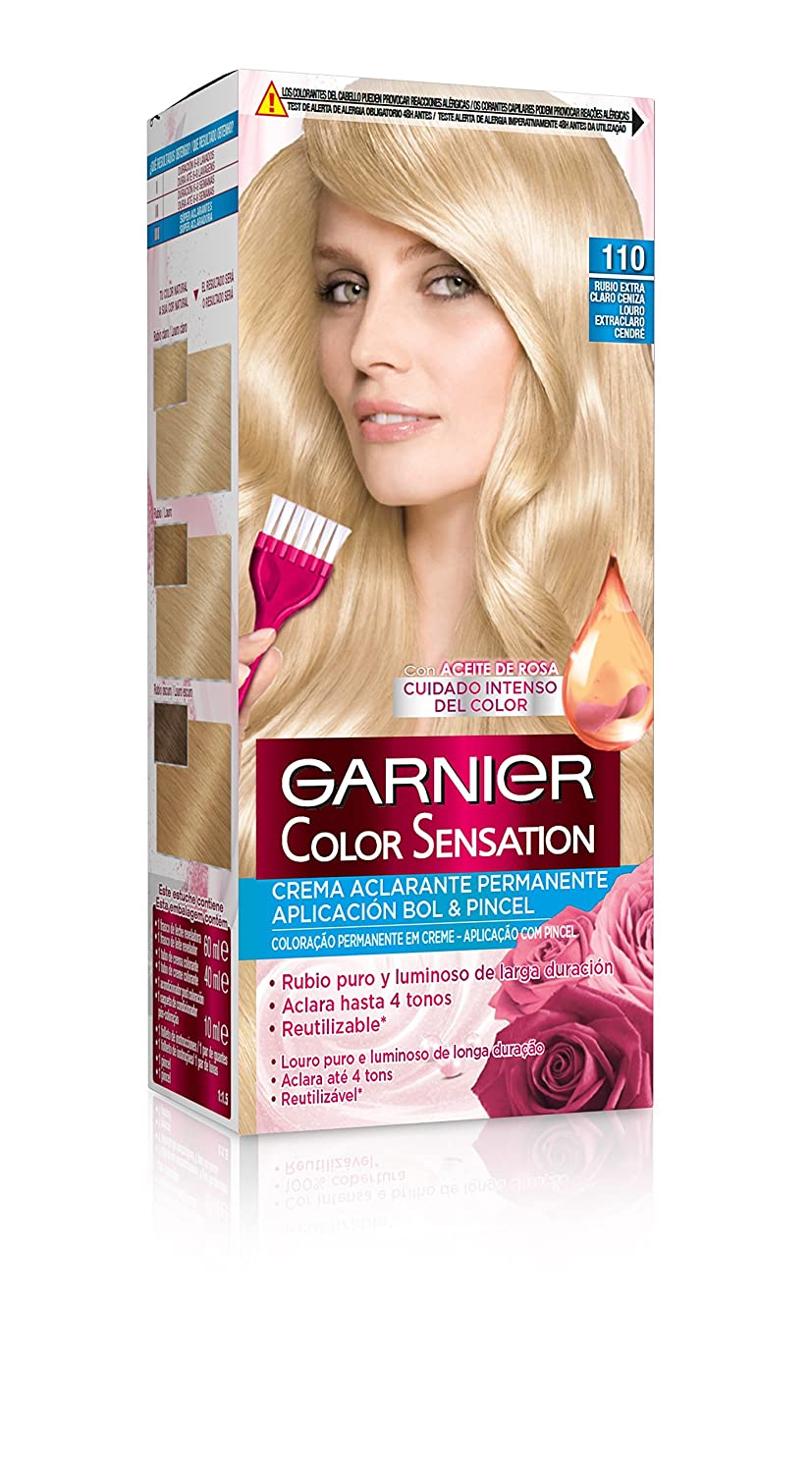 Coloración Color Sensation nº110 Rubio Extra Claro de Garnier: Amazon.es: Belleza