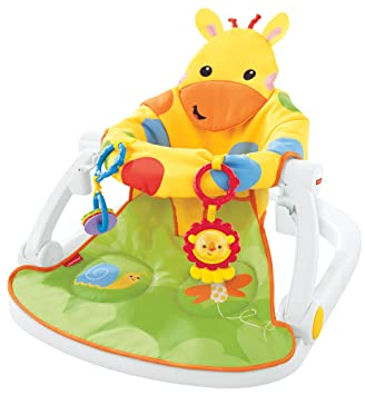 ae94d01608b Fisher-Price DJD81 Giraffe Sit-Me-Up Floor Seat