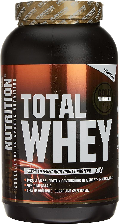 GoldNutrition Total Whey Proteína, Neutro - 1000 gr: Amazon ...