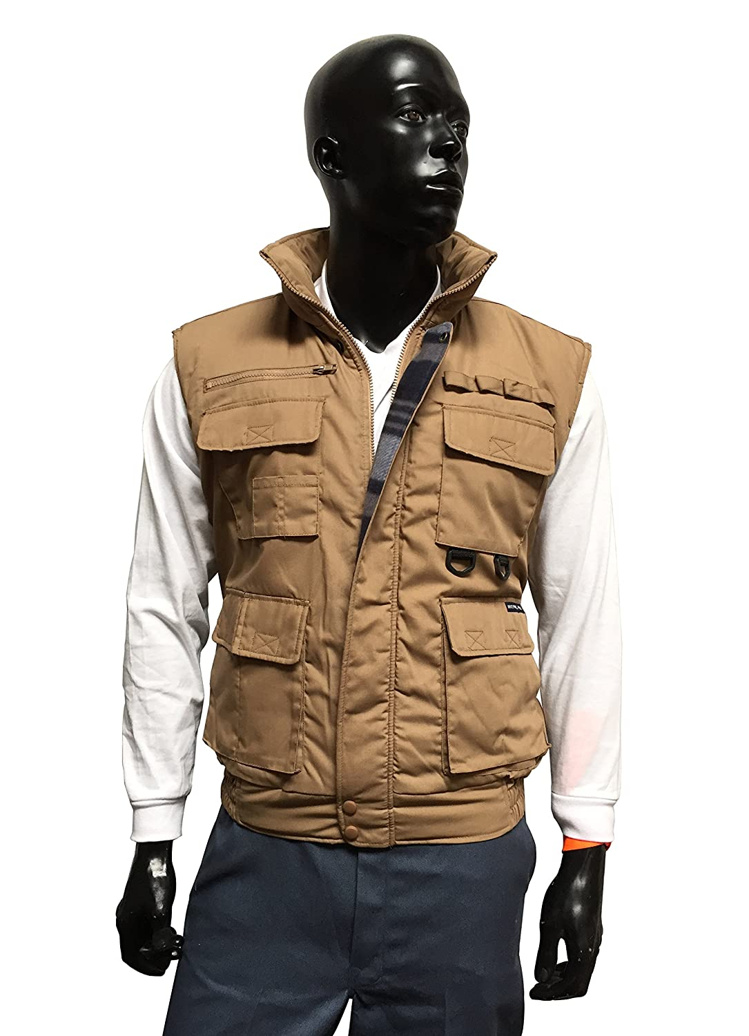 Renegade Men's Vest 1322 Pockets Hunting Padded 100% Authentic
