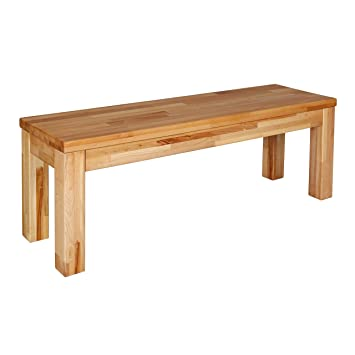 Krok Wood Banc Pour Table De Cuisine En Hêtre Milano 100 X 35 X 47