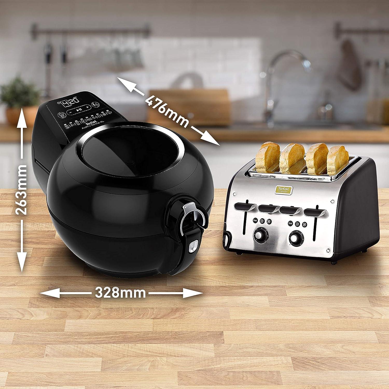 Tefal ActiFry Genius XL AH960840 Health Air Fryer, Black, 1.7 kg, 8 Portions Black