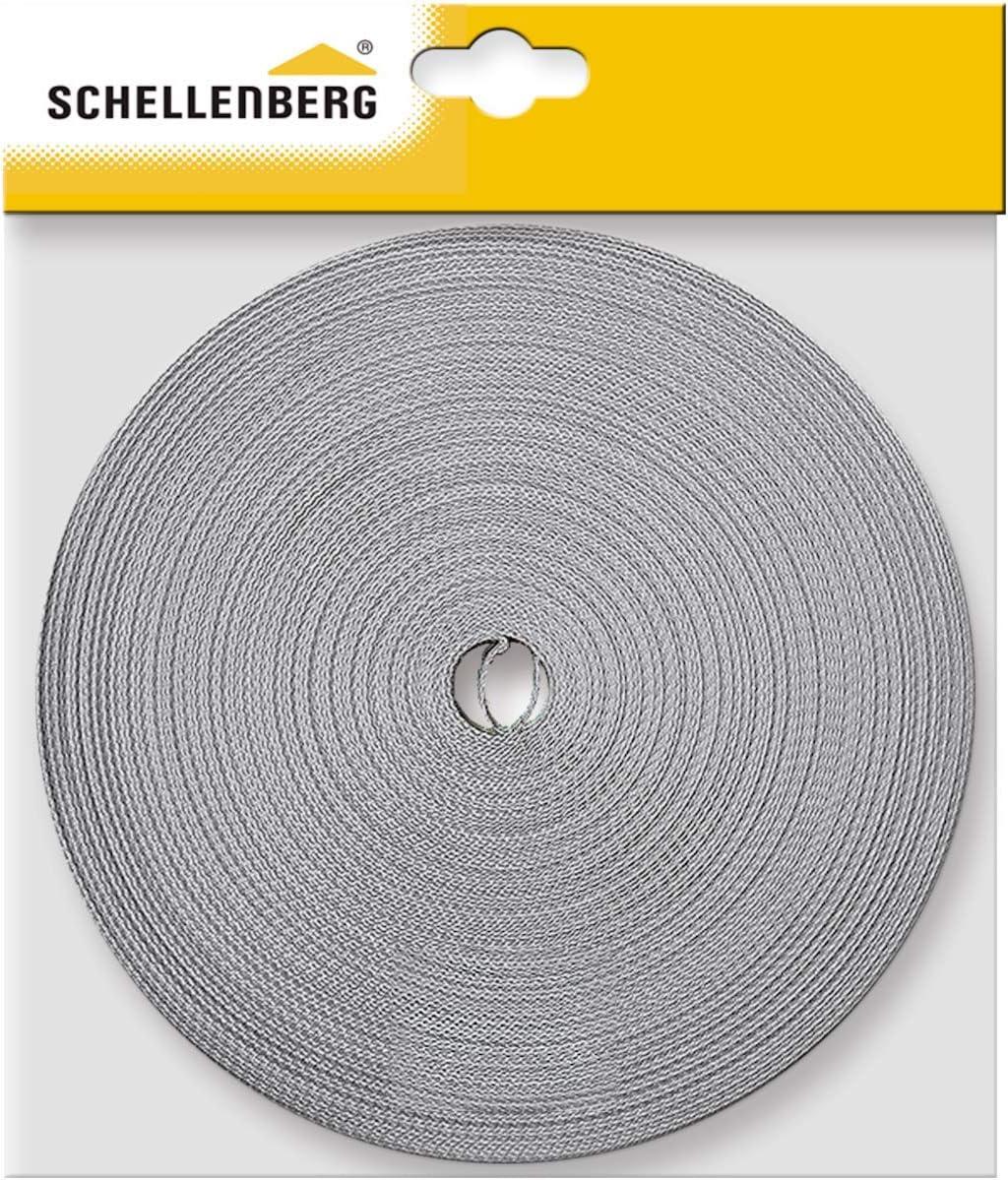 Schellenberg 11421 Roller Shutter Belt 14 mm x 50 m Grey