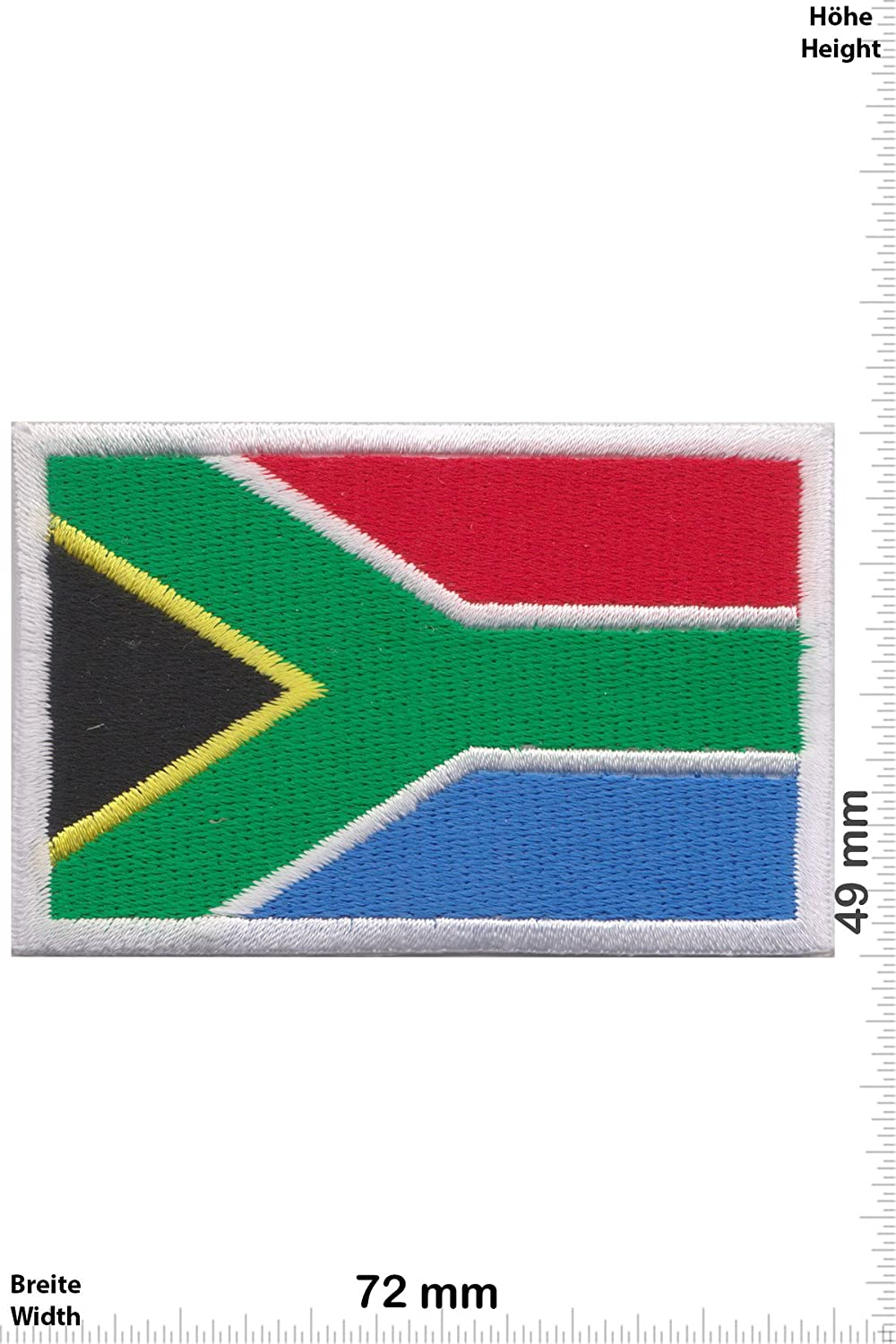 Patch - Südafrika - Flagge - South Africa - Länder Patch - Patches ...