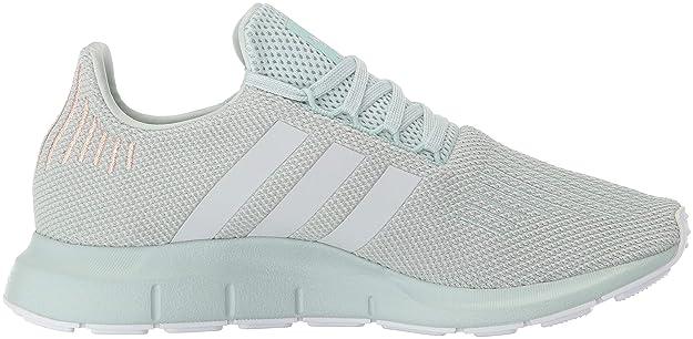 6738a3776070 adidas Women s Swift Run Originals Vapor Green Grey White Running Shoe 7.5  Women US  Amazon.co.uk  Shoes   Bags