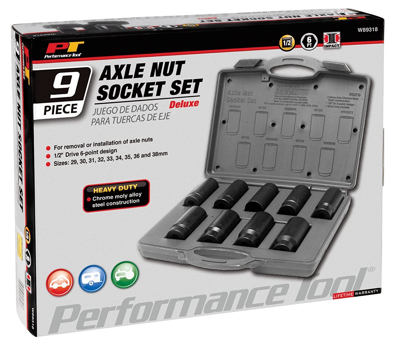 Performance Tool W154 36mm Front Wheel Drive Axle Nut Socket