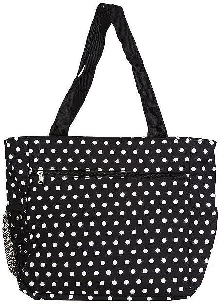 Handmade beach bag Multi Dots OjYoDKe7