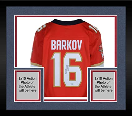 Framed Aleksander Barkov Florida Panthers Autographed Red Fanatics  Breakaway Jersey - Fanatics Authentic Certified 9db0e7897