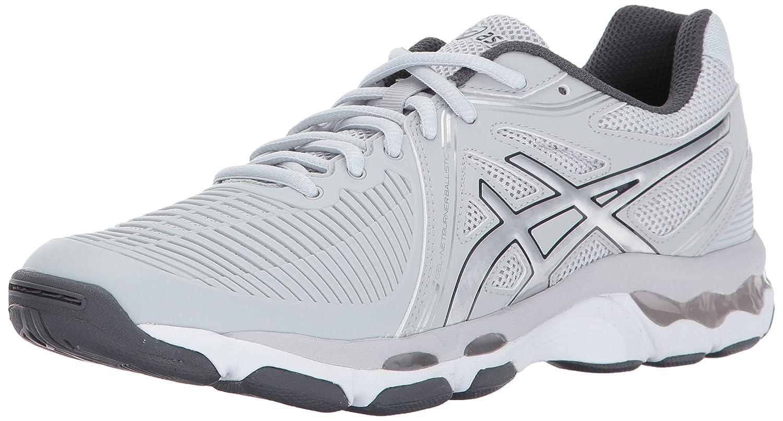 Asics Frauen Gel-Netburner Ballistische Schuhe  43.5 EU|Glacier Grey/Silver/Dark Grey