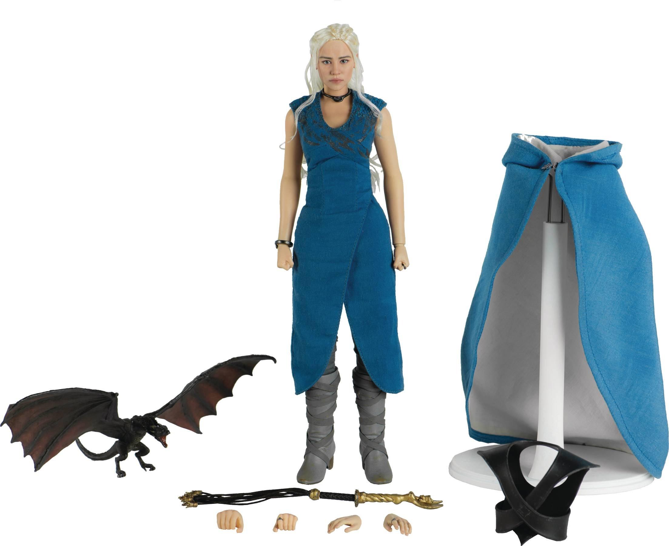 ThreeZero Game of Thrones Daenerys Targaryen 1:6 Scale Action Figure