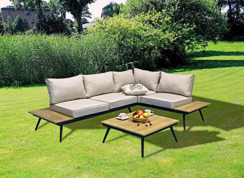 Lounge set riba sitzgruppe garten sofa sitzgarnitur for Lounge garnitur terrasse